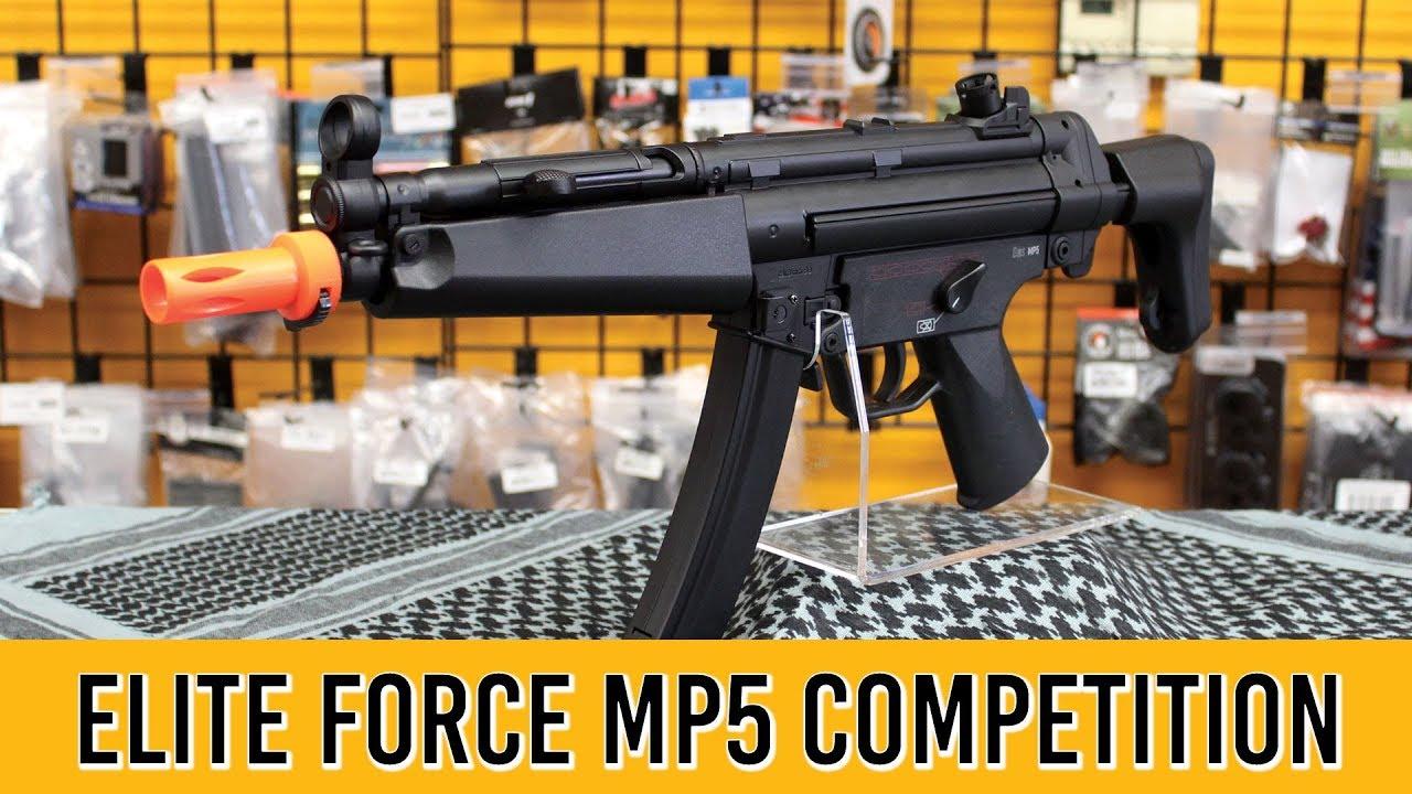 Elite Force H et K MP5 A4 A5 Compétition Airsoft Gun Review