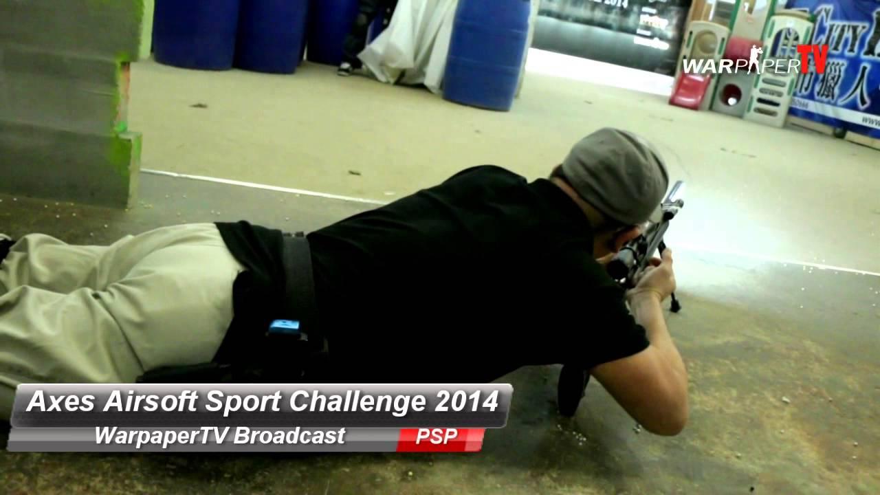 Vidéo du match Axes Airsoft Sport Challenge 2014