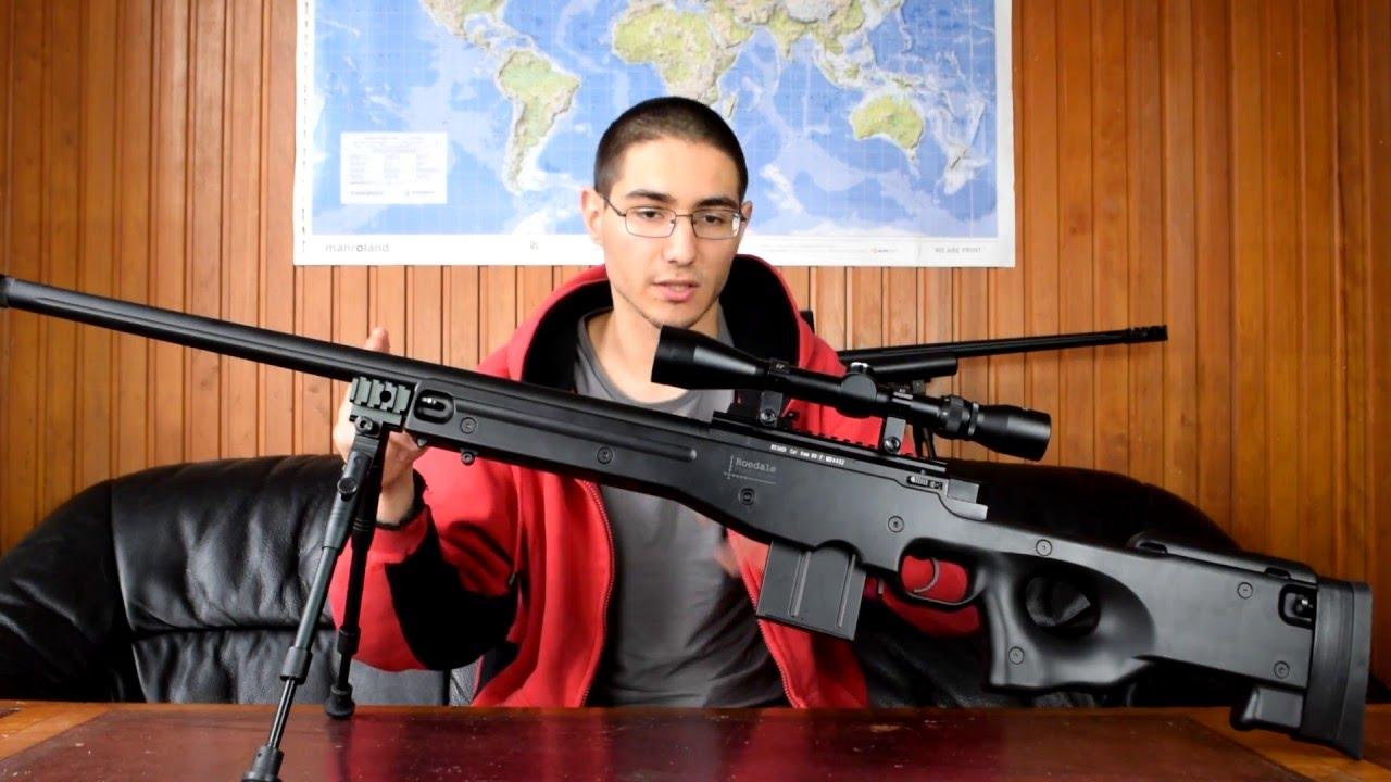 Airsoft: Begadi Sniper Review L96 par Well