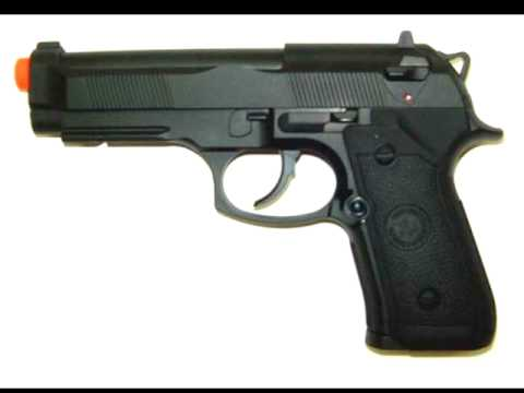 Examen du pistolet airsoft TSD M9 CO2 gaz sans refoulement