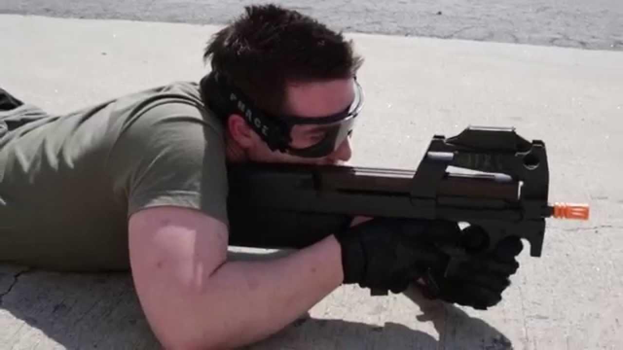 FN P90 Sportline AEG – Test Classic Army Airsoft