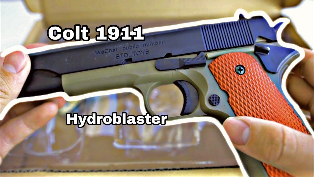STD Manuel 1911 Mag Blaster Gel Blaster – déballage et révision