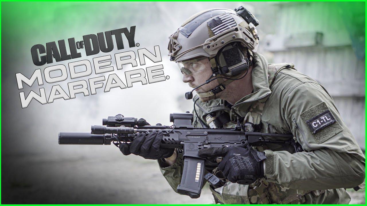 Call of Duty: la guerre moderne dans la vraie vie Airsoft Edition