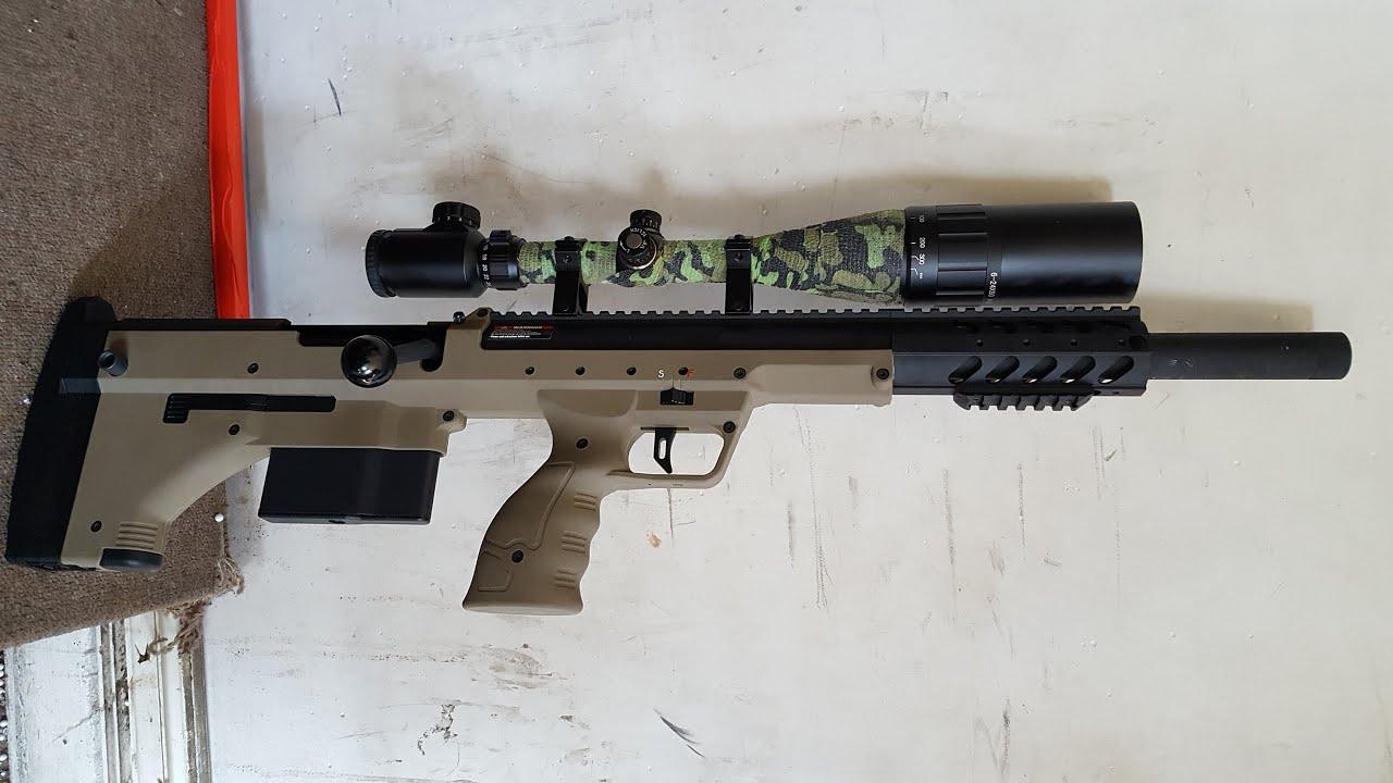 """Airsoft Sniper Rifle SRS A1 Silverback 20 """"SPORT – Examen Des mises à niveau sont-elles nécessaires?"""