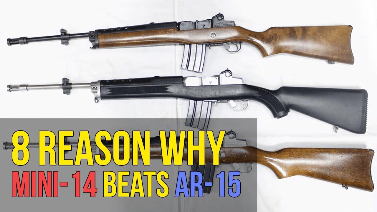 8 raisons pour lesquelles le Ruger Mini-14 est meilleur que le AR15 (4K UHD)