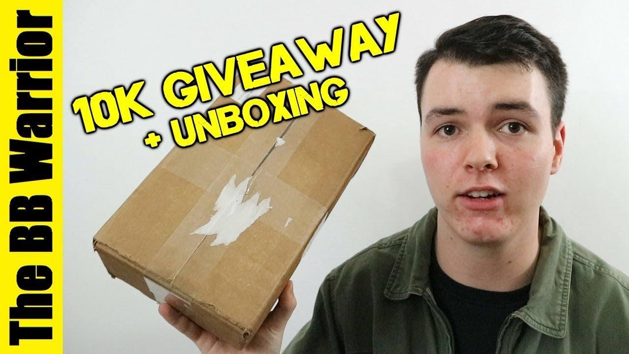 10K Giveaway + Boîte mystère Fox Airsoft Unboxing!