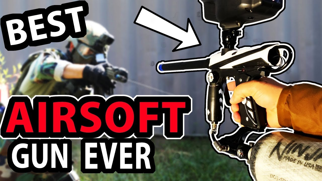 Guy crée un pistolet Airsoft + Paintball | Sniper des marais