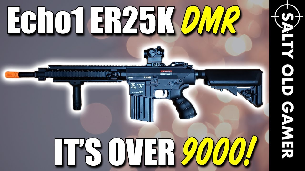 Echo1 ER25K Airsoft DMR Review | SaltyOldGamer Airsoft Review