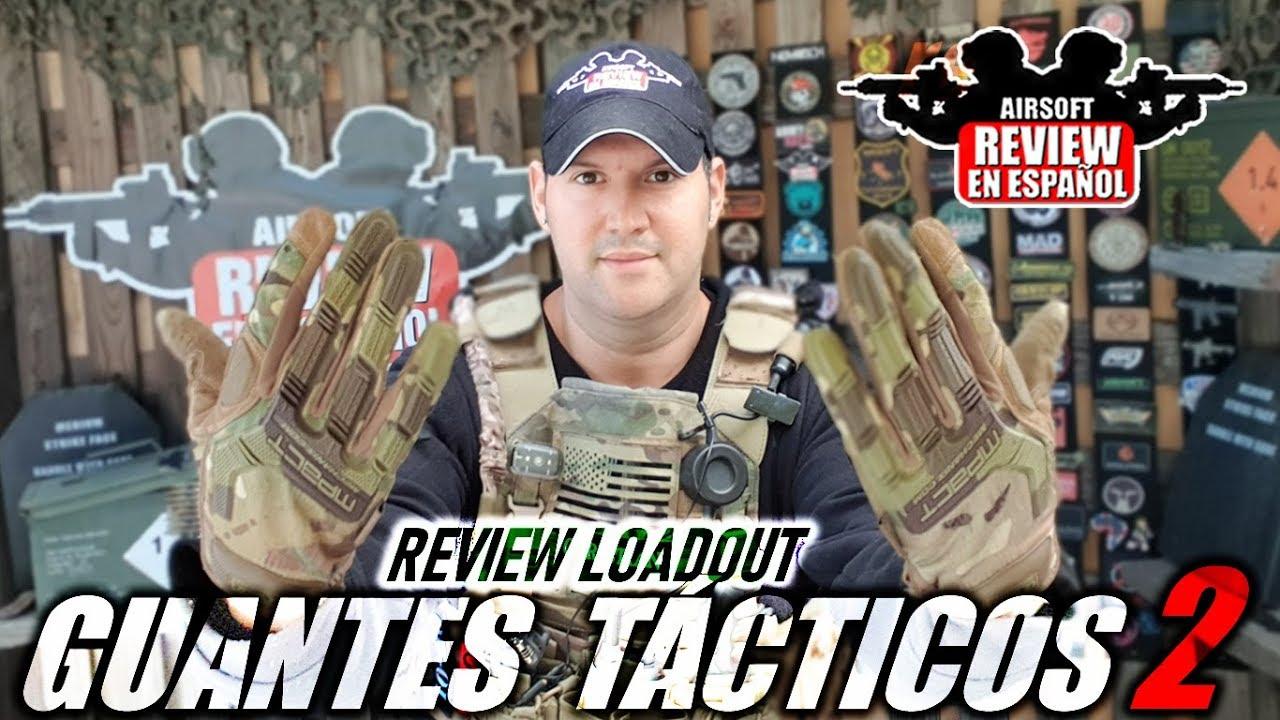 GANTS TACTIQUES – Pour Airsoft (Mechanix & Delta Tactics)   Airsoft Review en espagnol