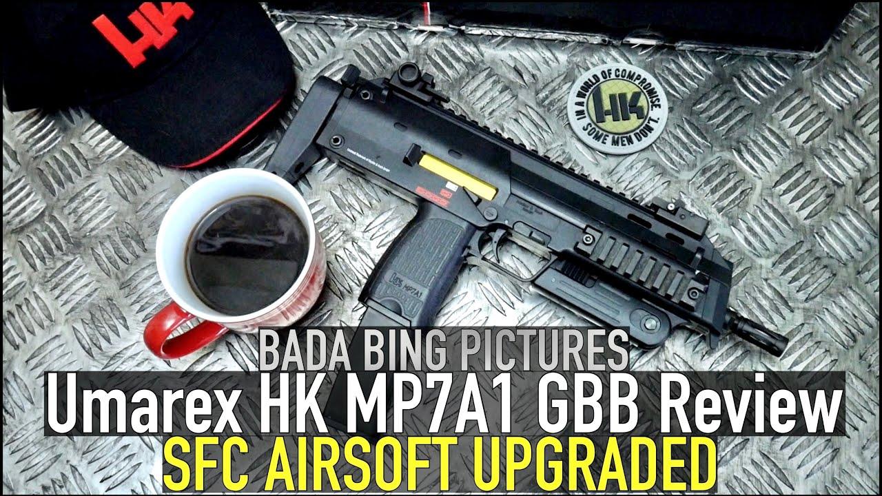 Umarex / SFC Airsoft HK MP7A1 GBB Test