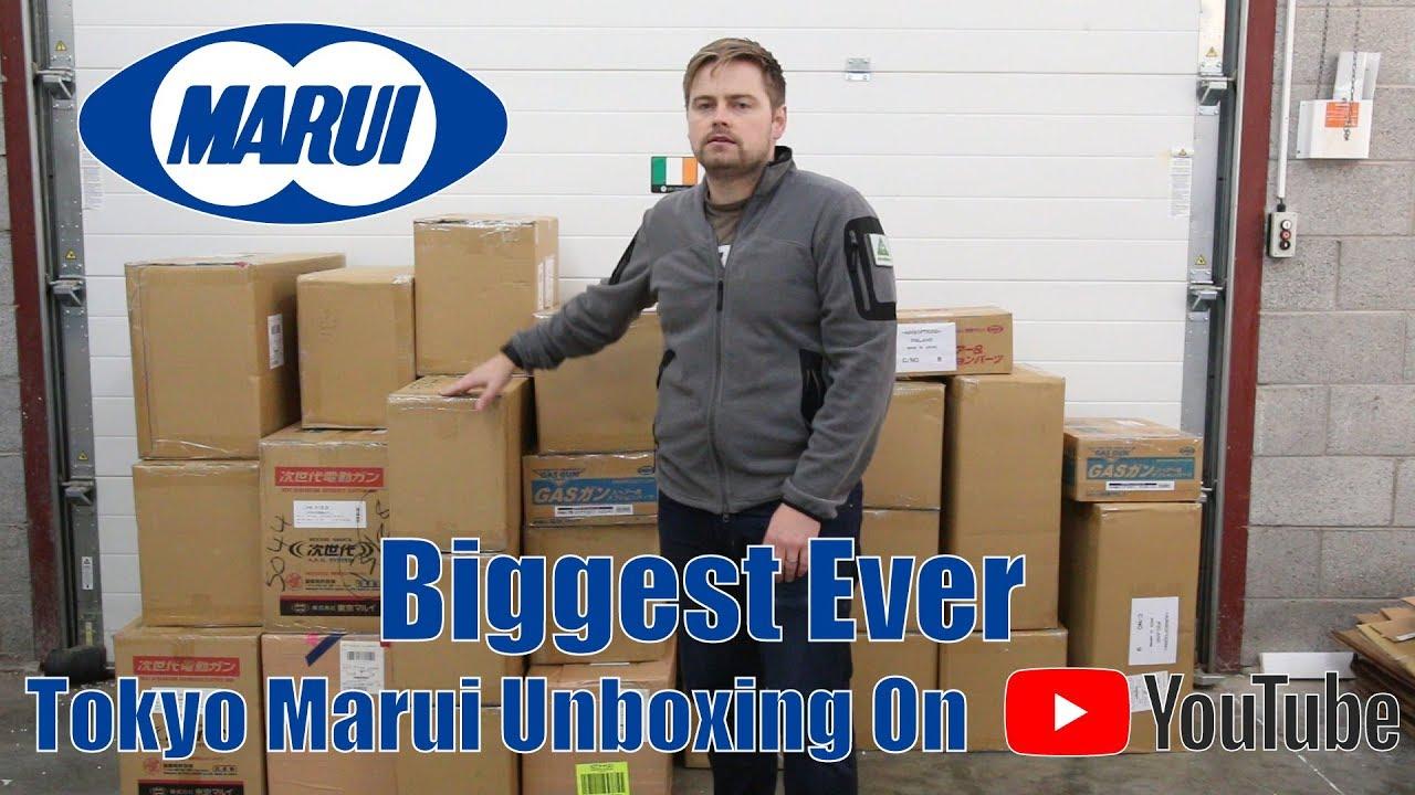 Le plus grand Tokyo Marui Airsoft Unboxing jamais.