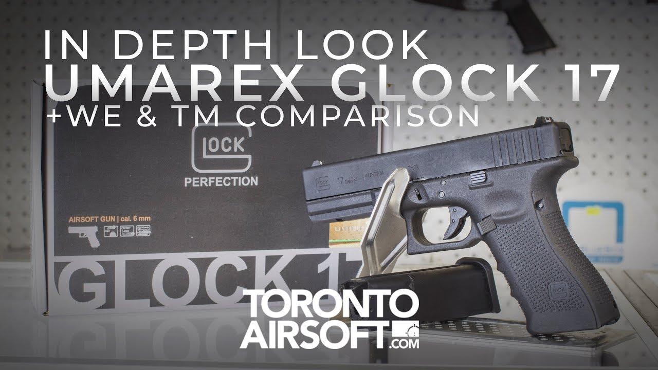 EN PROFONDEUR: COMPARAISON GLOCK 17 + WE / TM SOUS LICENCE OFFICIELLE – TorontoAirsoft.com