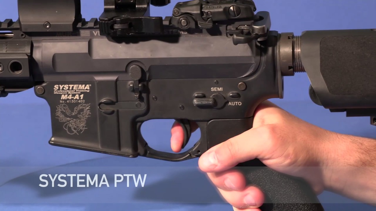 Révision / Systema PTW VS A & K PTW | Trigger Test / Raven Airsoft | Airsoft Italia