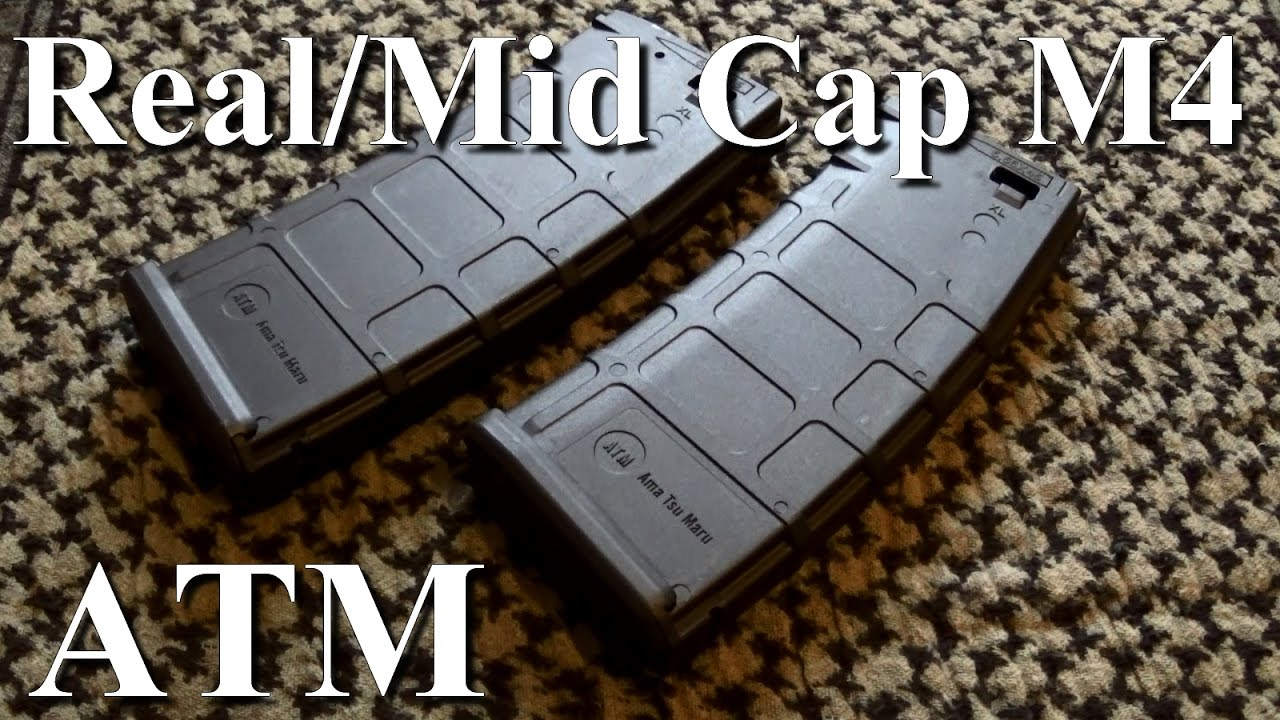 Chargeur M4 Real/Mid Cap ATM. Review Fr. Airsoft. (n°245)