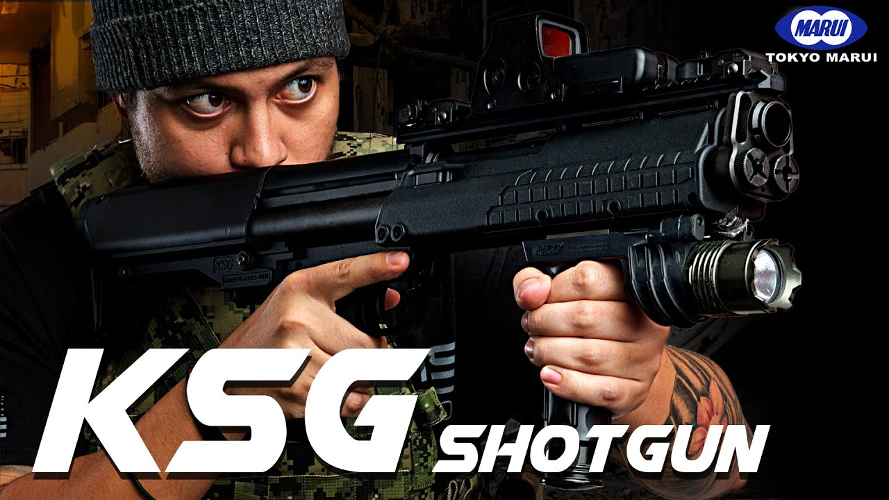 Marui a-t-il craqué le fusil de chasse avec le nouveau KSG? – RedWolf Airsoft RWTV