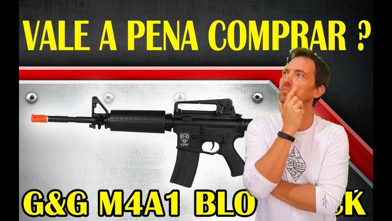 REVUE M4A1 G & G AIRSOFT BLOWBACK Vaut la peine d'acheter …
