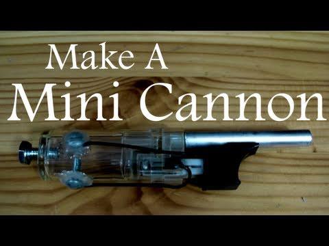 Faire un mini canon à partir d'un briquet
