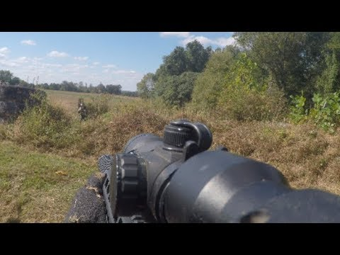 Airsoft Trench Games: Ambush Paintball Field