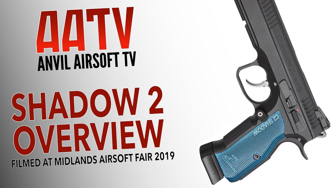 ASG CZ Shadow 2 Vue d'ensemble   Meilleur pistolet airsoft?   AATV EP073