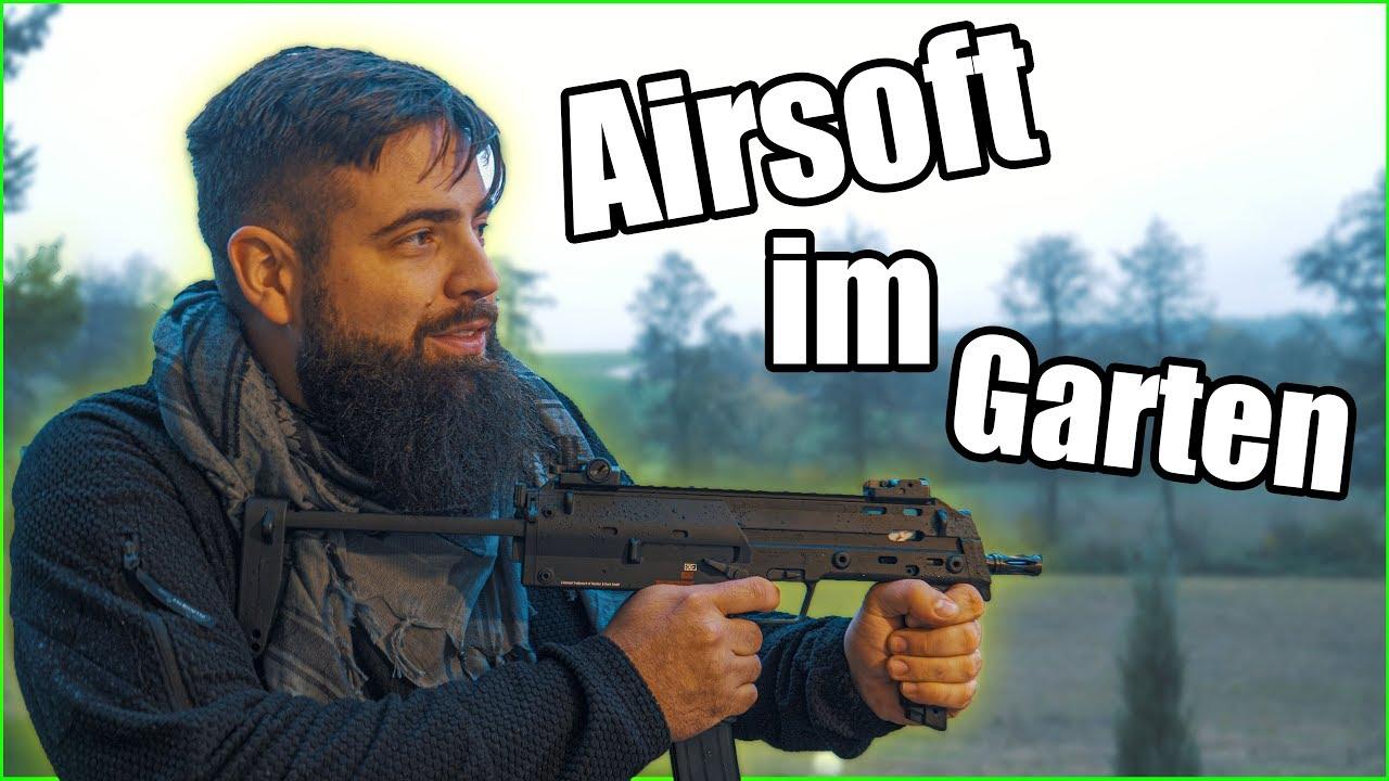 Dans GARDEN Airsoft shoot / play legal? Softair allemand