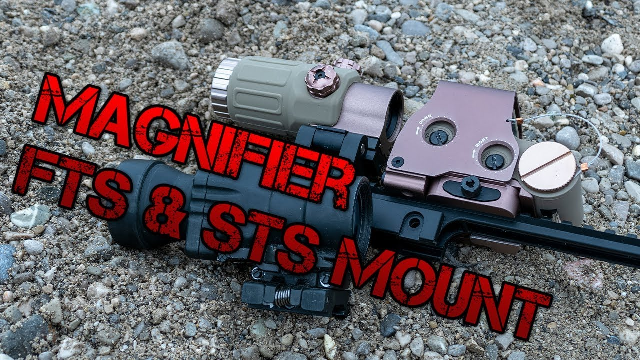 Loupe, monture STS & FTS – Conditions Airsoft