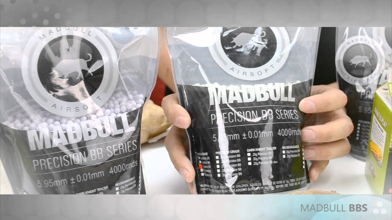 Madbull Airsoft – Collection complète de BB!