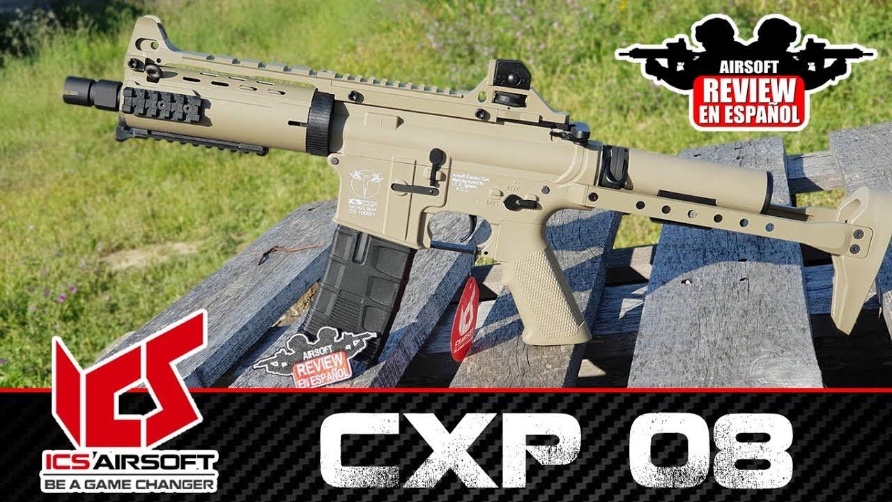 M4 ICS CXP 08 | Airsoft Review en espagnol