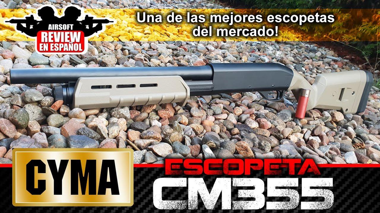 L'un des meilleurs fusils sur le marché! CYMA CM355 SHOTCASE | Airsoft Review en espagnol