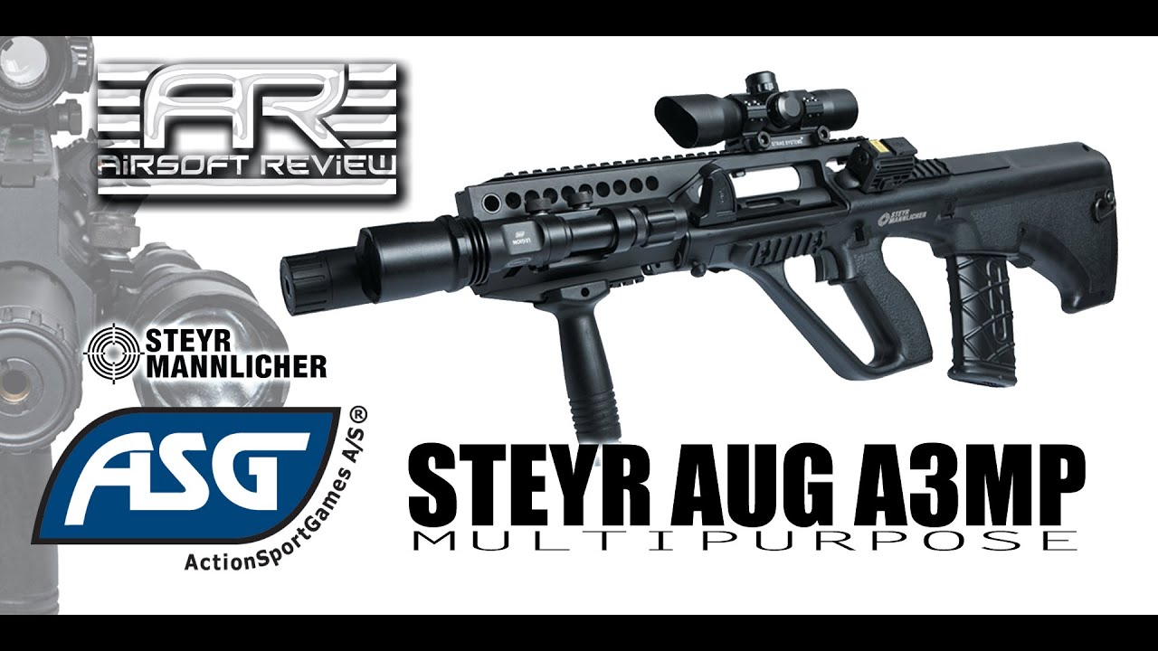 ✔ STEYR AUG A3 MP [ ACTION SPORT GAMES ] / AIRSOFT REVIEW ✔