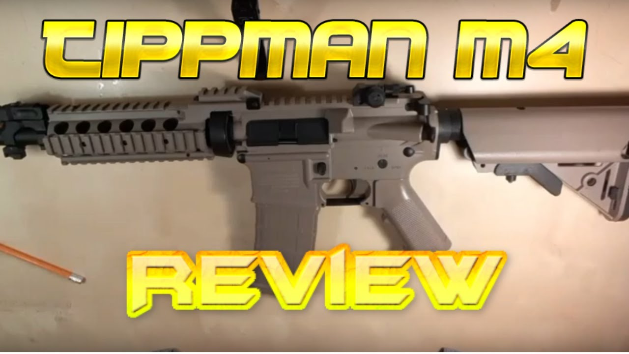 Tippmann Basic Pleine grandeur M4 Airsoft AEG Review!
