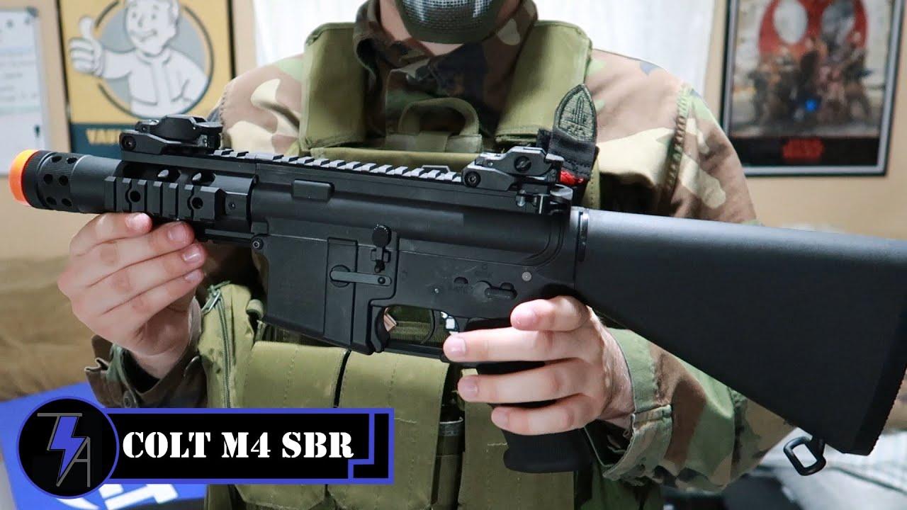 Airsoft Colt M4 SBR par Cybergun – Révision et démontage