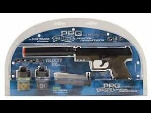 Examen du kit de pistolet Walther PPQ Spring Airsoft!