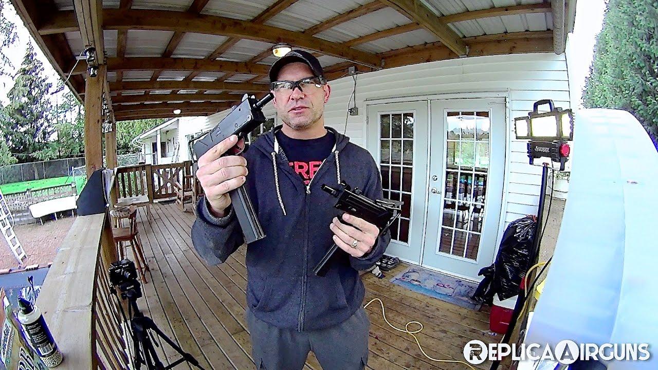 KWC Mac 11 M11 CO2 BB – Essai sur le terrain du pistolet Airsoft