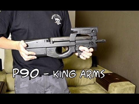 Avis – P90 – King Arms – Airsoft France