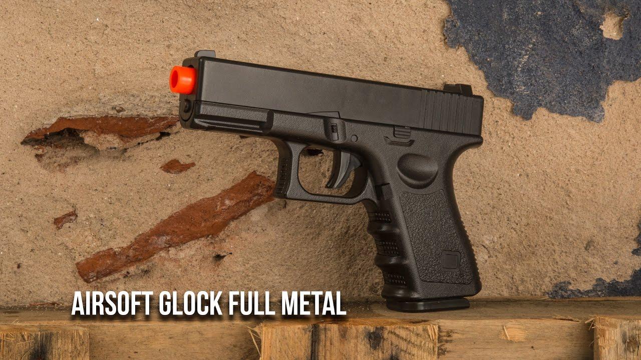 Pistolet Full Metal Airsoft Spring Glock – Ventureshop