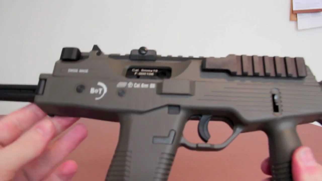 KWA KMP9 (MP9) Airsoft GBB Review