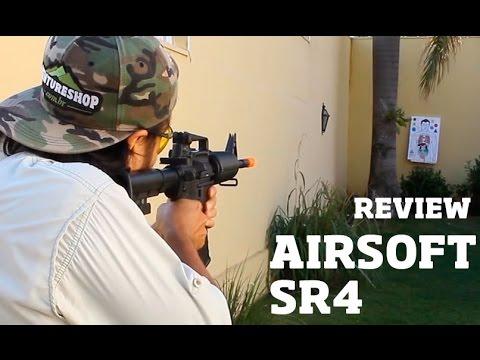 Airsoft SR4 Rifle M4A1 SRC Review – Ventureshop