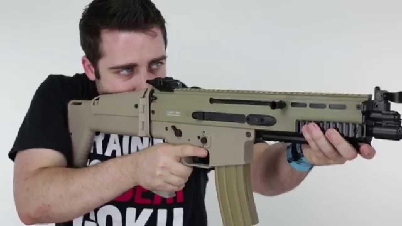 FN SCAR-L Sportline AEG – Test Airsoft – Classic Army