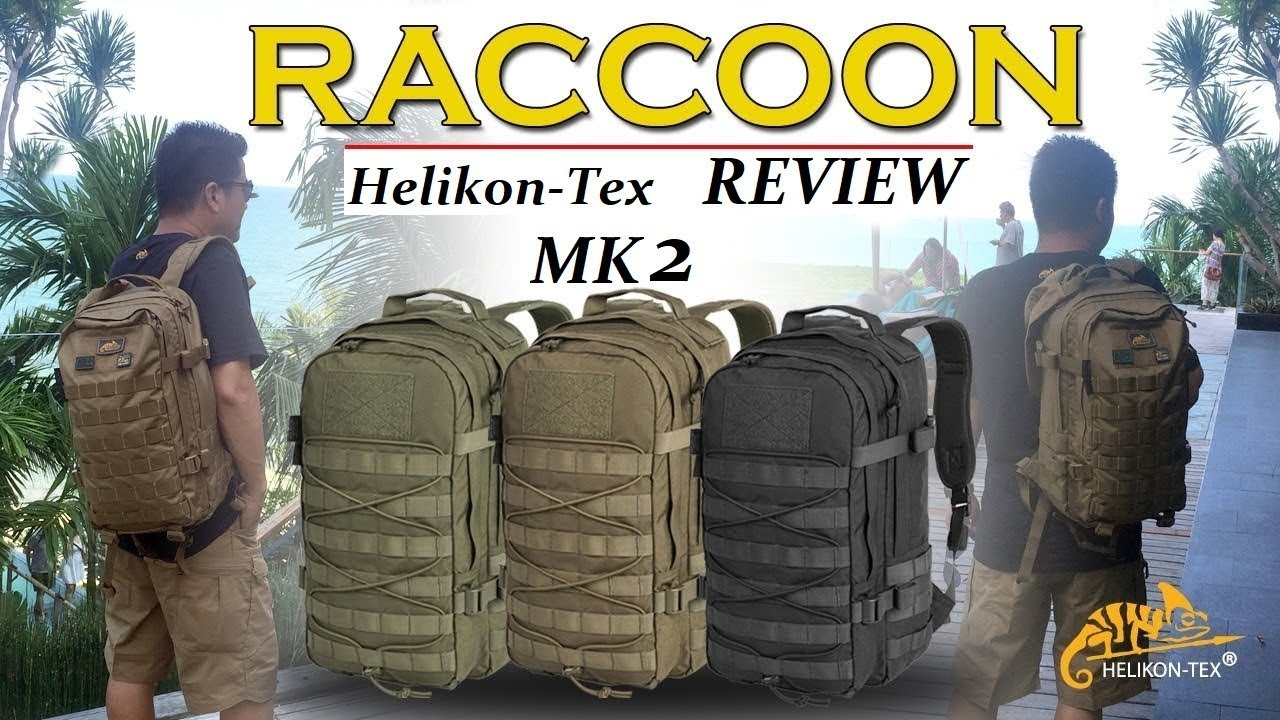 REVIEW  airsoft FR / Subtitle english /Sac raccoon mk2 CORDURA