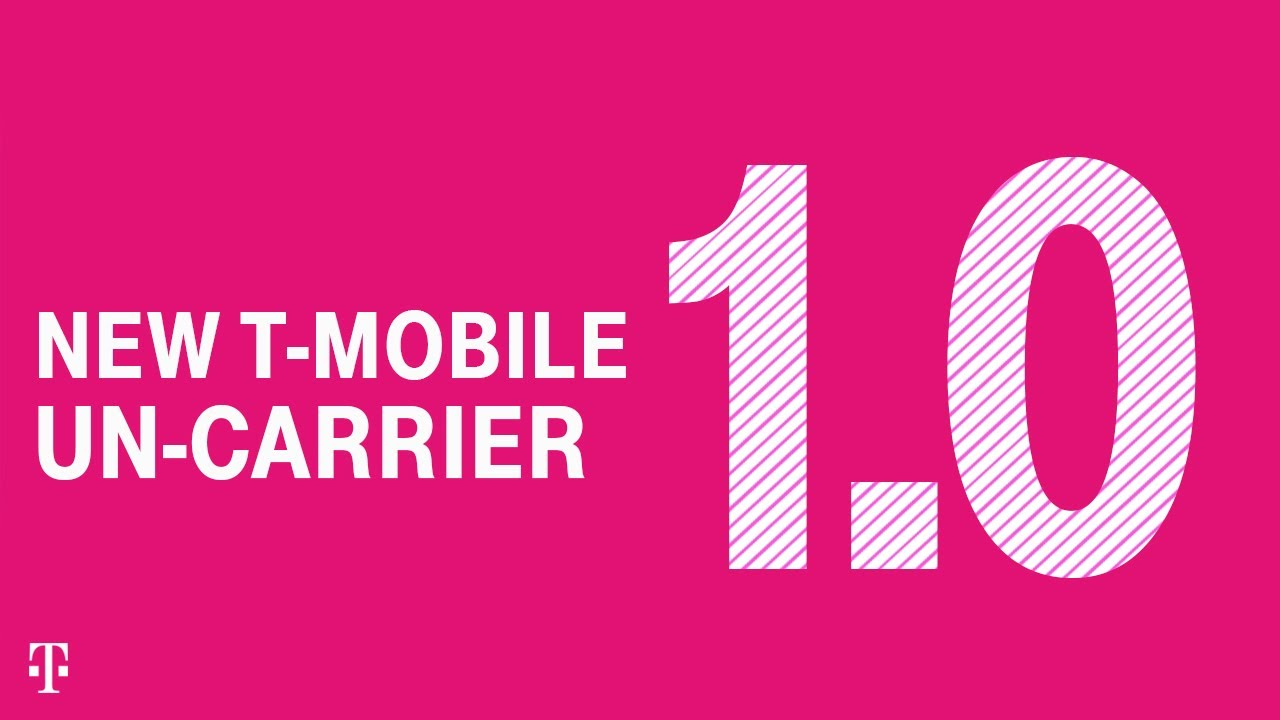 Présentation du nouveau T-Mobile Un-carrier 1.0: 5G For Good