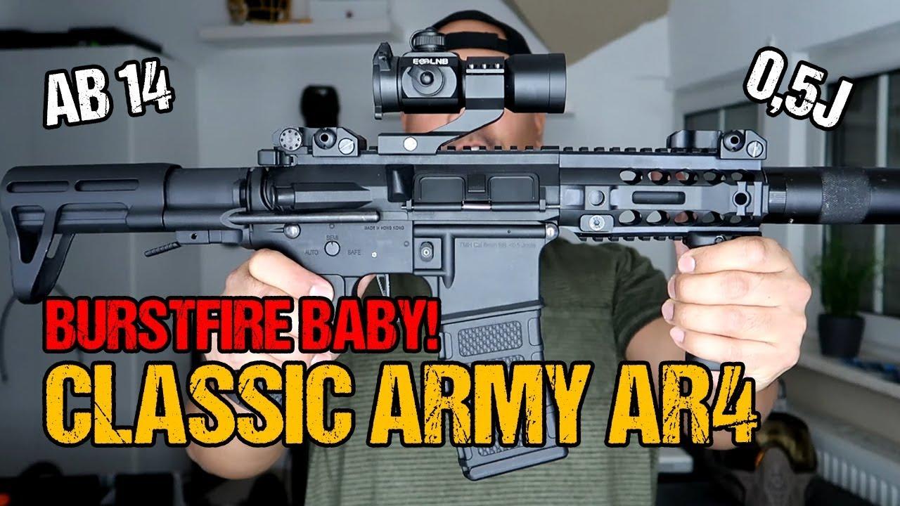 Armée classique AR4 SBR | Revue Airsoft