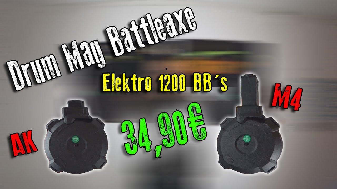 Batterie électrique Mag 1200 Battleaxe | Unboxing & Review | Highlander Airsoft