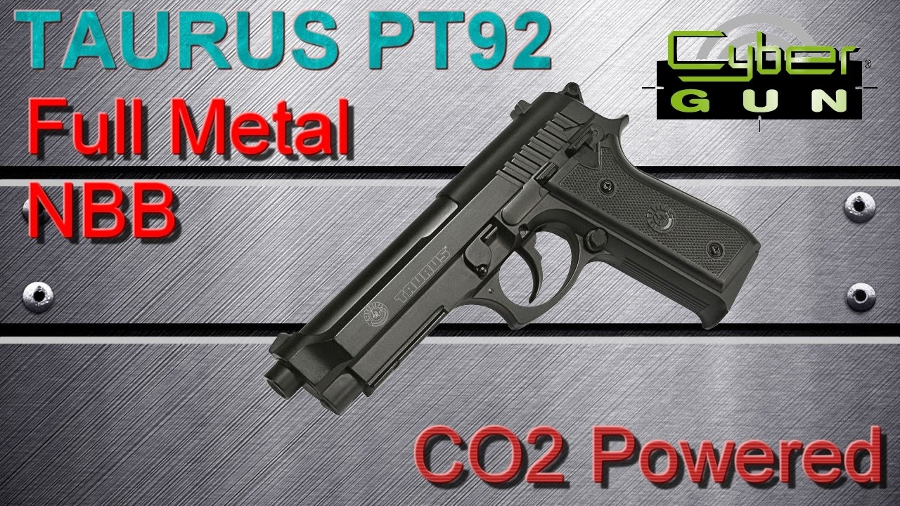 [AIRSOFT] Review N°93 – Taurus PT92 NBB – Full Metal – CO2 Powered (CYBERGUN)