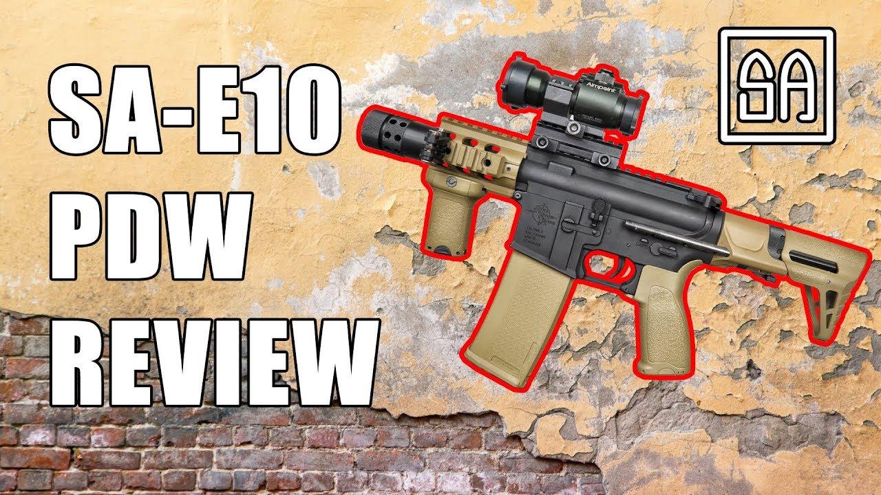 Airsoft Review   Specna Arms SA-E10 Porte ASI PDW