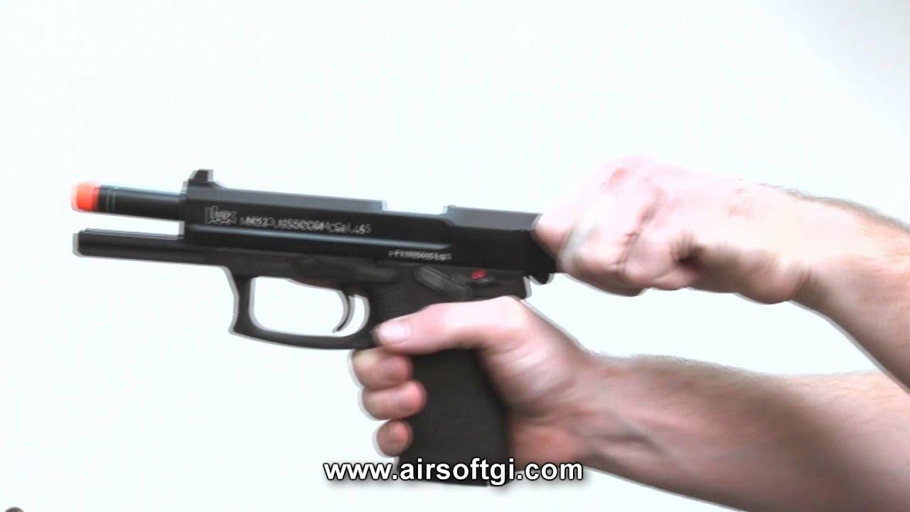 Airsoft GI – Examen du pistolet KWA US Socom Airsoft