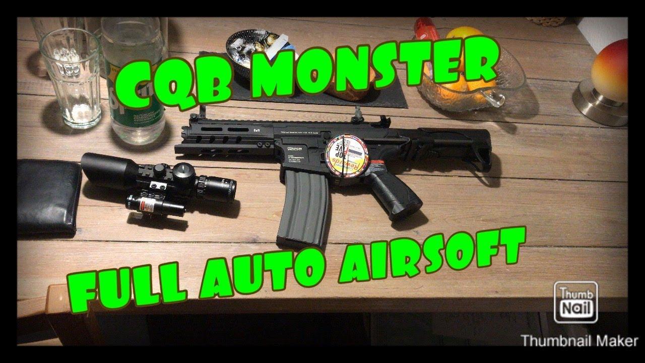 Monstre Airsoft G & G ARP 556 avec test de 0,5 joule et examen CECI EST LA FOLIE!