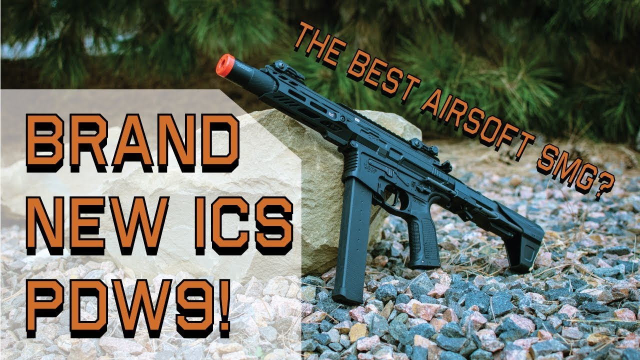 ICS PDW9 Review | Fox Airsoft