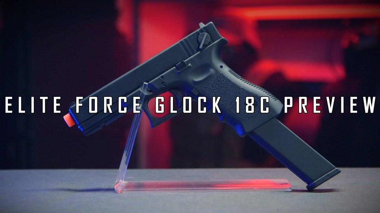 FUN SWITCH MAINTENANT DISPONIBLE! – Pistolet de décharge à essence 18c Elite Force Glock   Airsoft GI