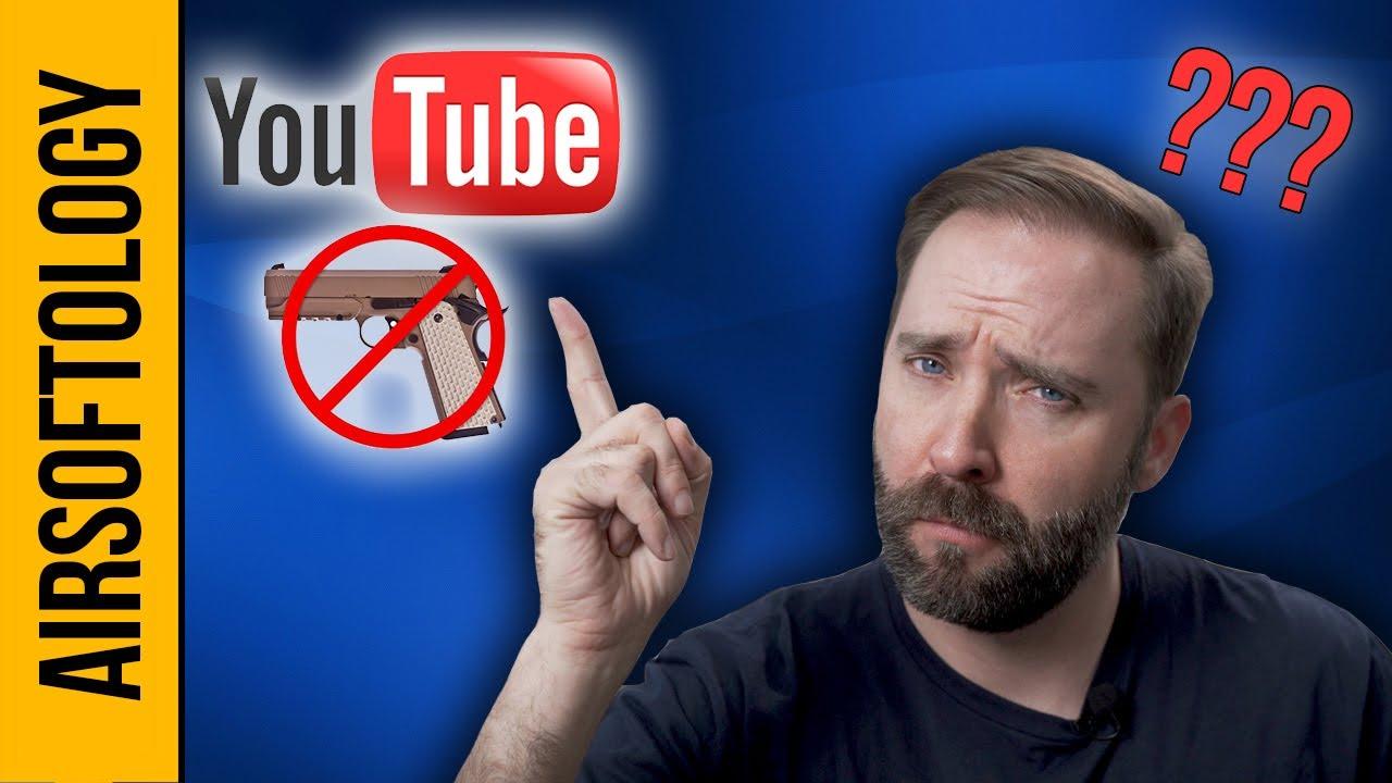 Les nouvelles lois sur YouTube seront la fin des vidéos Airsoft?