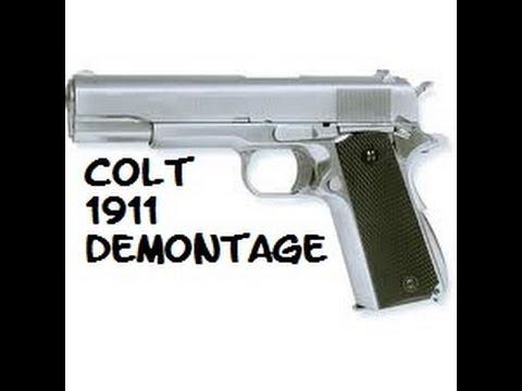 Démontage Colt 1911 AIRSOFT